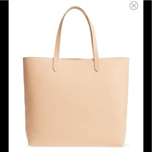 MADEWELL NEW Zip Top Transport Leather Tote